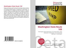 Bookcover of Washington State Route 165