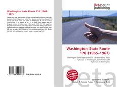 Bookcover of Washington State Route 170 (1965–1967)