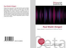 Capa do livro de Paul Walsh (Singer)