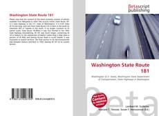 Bookcover of Washington State Route 181