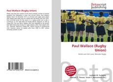 Capa do livro de Paul Wallace (Rugby Union)