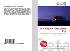 Bookcover of Washington State Route 193