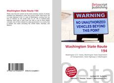 Bookcover of Washington State Route 194