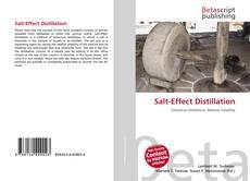 Couverture de Salt-Effect Distillation