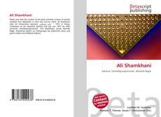 Bookcover of Ali Shamkhani