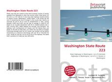 Bookcover of Washington State Route 223
