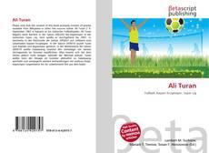 Capa do livro de Ali Turan
