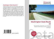 Buchcover von Washington State Route 23