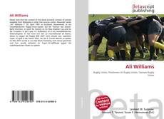 Buchcover von Ali Williams