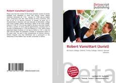 Portada del libro de Robert Vansittart (Jurist)