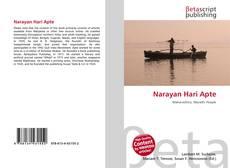 Обложка Narayan Hari Apte