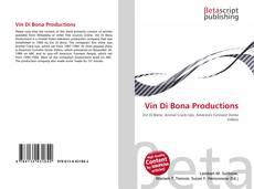 Buchcover von Vin Di Bona Productions