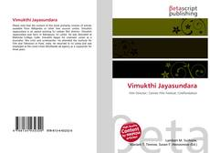 Bookcover of Vimukthi Jayasundara