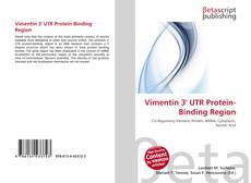 Vimentin 3' UTR Protein-Binding Region的封面
