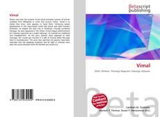 Buchcover von Vimal