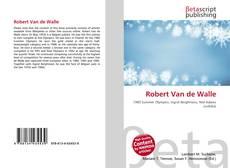 Bookcover of Robert Van de Walle