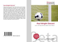 Paul Wright (Soccer) kitap kapağı