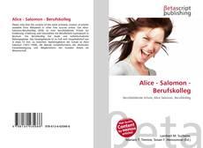 Bookcover of Alice - Salomon - Berufskolleg