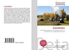 Bookcover of Sulztalbahn