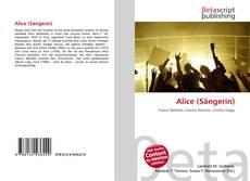 Capa do livro de Alice (Sängerin)