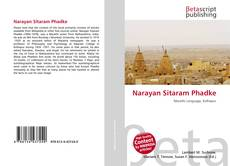 Bookcover of Narayan Sitaram Phadke