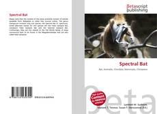 Capa do livro de Spectral Bat