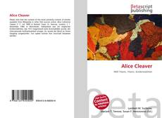 Bookcover of Alice Cleaver