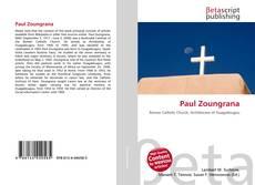 Paul Zoungrana kitap kapağı