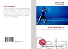 Bookcover of Alice Coachman