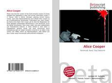 Buchcover von Alice Cooper