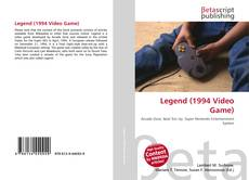 Bookcover of Legend (1994 Video Game)