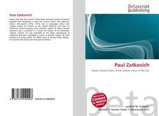 Bookcover of Paul Zatkovich