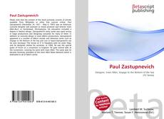 Bookcover of Paul Zastupnevich