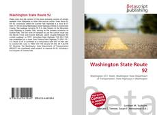 Bookcover of Washington State Route 92