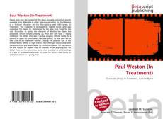 Portada del libro de Paul Weston (In Treatment)