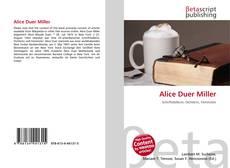 Couverture de Alice Duer Miller