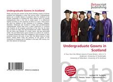 Buchcover von Undergraduate Gowns in Scotland