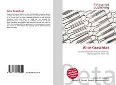 Buchcover von Alice Graschtat