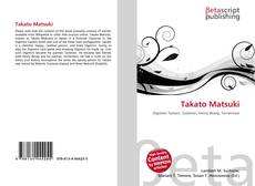 Takato Matsuki的封面