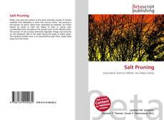 Salt Pruning kitap kapağı