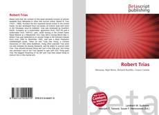 Bookcover of Robert Trias