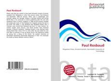 Paul Rosbaud kitap kapağı