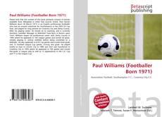 Borítókép a  Paul Williams (Footballer Born 1971) - hoz