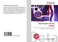 Bookcover of Washington Street Bridge