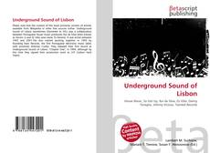 Underground Sound of Lisbon kitap kapağı