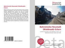 Capa do livro de Bahnstrecke Neustadt (Waldnaab)–Eslarn