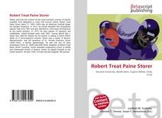 Bookcover of Robert Treat Paine Storer