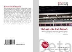 Bookcover of Bahnstrecke Kiel–Lübeck