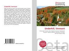 Обложка Underhill, Vermont