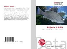 Bookcover of Rasbora Subtilis